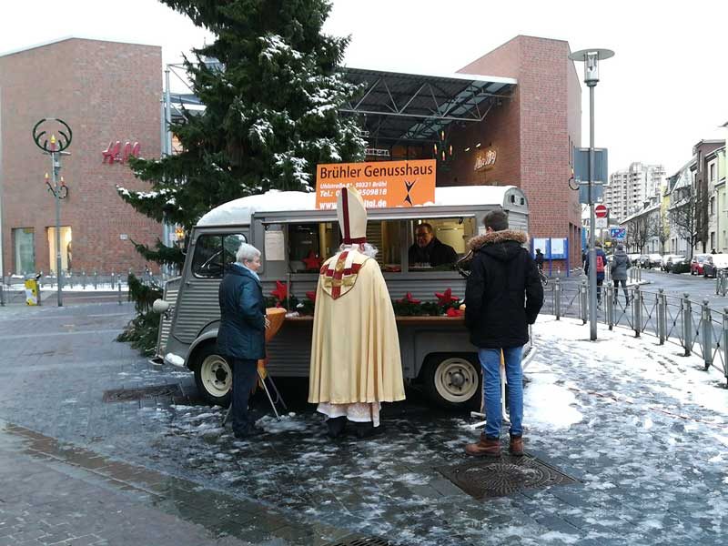 Der Citroen HY im Winter